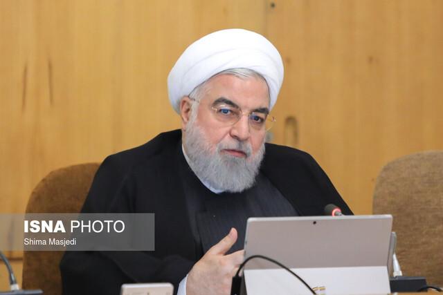 נשיא איראן רוחאני בפתח ישיבת הממשלה בתגובה על חיסולו של סולימאני