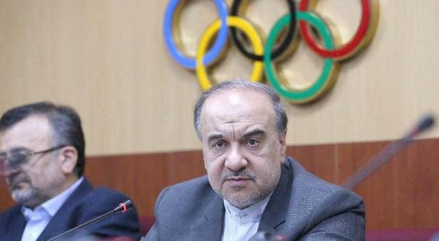 שר הספורט האיראני מאנסור סולטניפר