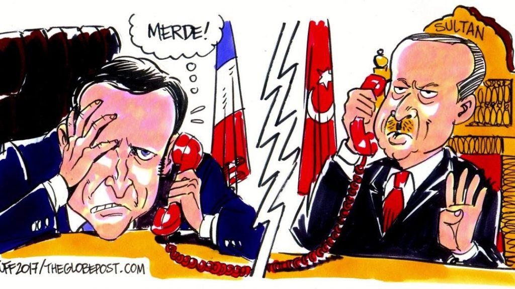 """ארדואן למקרון: """"אל תתעסק עם טורקיה"""""""