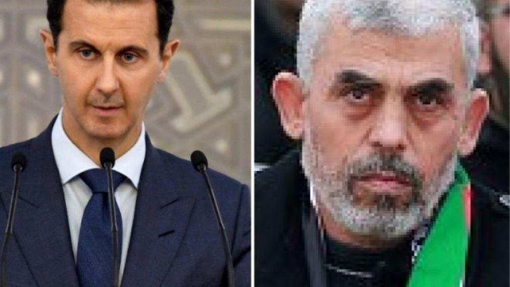 מאמץ לפיוס בין חמאס למשטר אסד