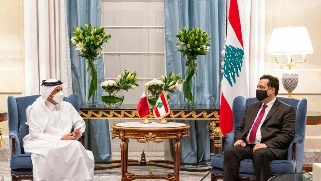 לבנון פונה לקטאר לעזרה