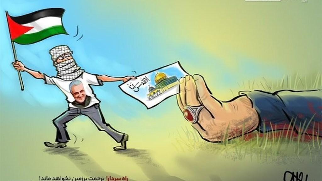 ח'אמנהאי : איראן מסייעת לפלסטינים לעבור מאבנים לטילים מדוייקים