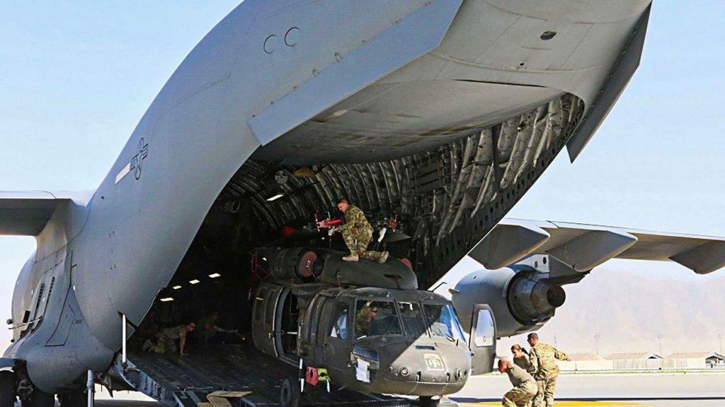 ברקע התקדמות הטאליבן - סמל השליטה באפגניסטן ננטש על ידי ארה