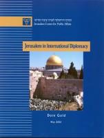 Jerusalem in International Diplomacy (PDF)