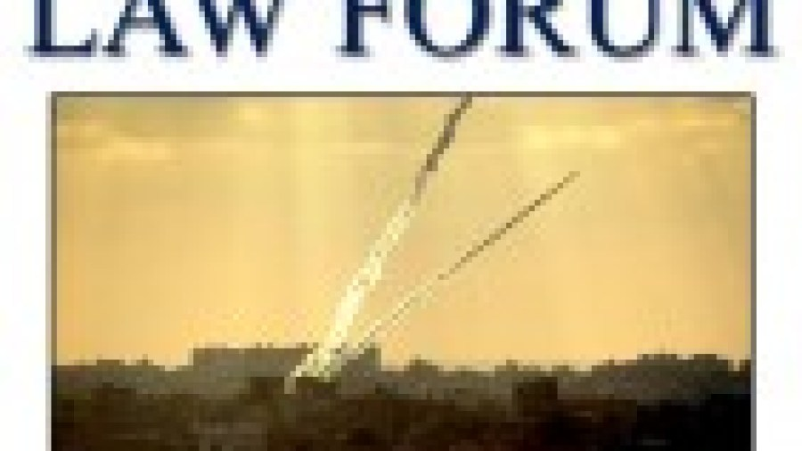 International Law and the Fighting in Gaza