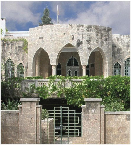 The Jerusalem Center Building