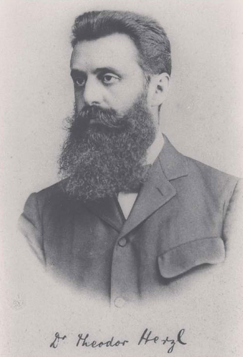 Theodor Herzl, 1900 (Israel National Photo Collection) - The National Rights of Jews