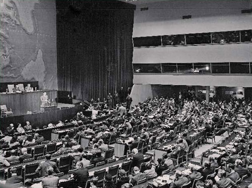 UN General Assembly adopted Resolution 181 - The National Rights of Jews