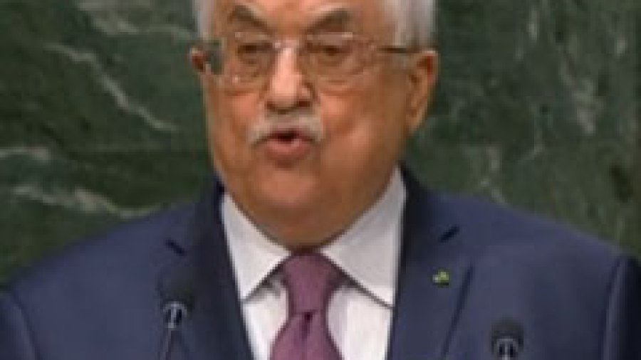 Mahmoud Abbas Justifies Palestinian Terror in His UN General Assembly Speech