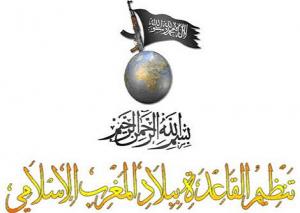 Logo for Al-Qaeda in the Islamic Maghreb (AQMI) in Algeria
