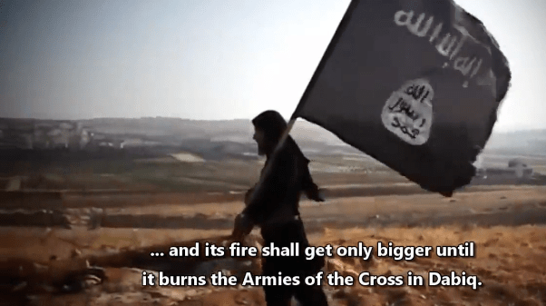 The Islamic Armageddon Lies between Turkey and ISIS