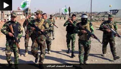 "Fighters of the Shiite ""Iraqi National Mobilization"""