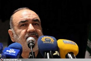 Revolutionary Guards Deputy Commander Hussein Salami