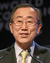 U.N. Secretary-General Ban Ki-moon