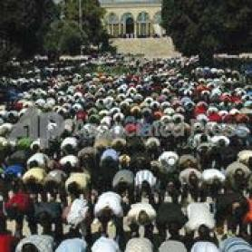 Freedom of worship for Muslims on the Temple Mount. Even though it is the third holiest place for Islam and the holiest place for Jews, Israel bars Jews from praying there. (Government Press Office)