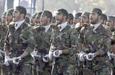 """Iranian Basij """"volunteer"""" fighters"""