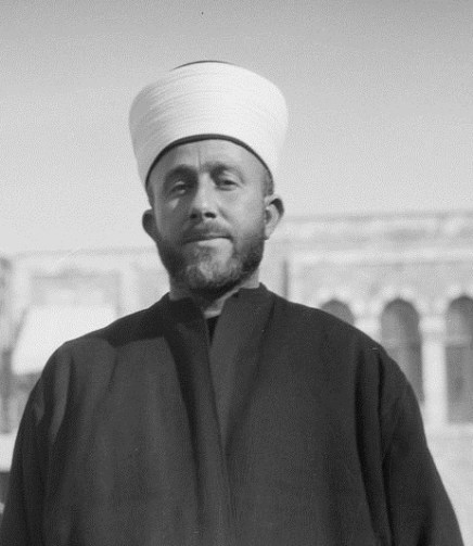 Mufti of Jerusalem Haj Amin al-Husseini (Library of Congress)