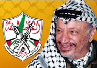 Yasir Arafat, the founder of Fatah