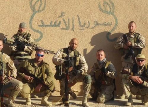 Elite Russian soldiers