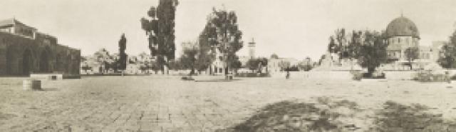 Temple Mount, 1915.