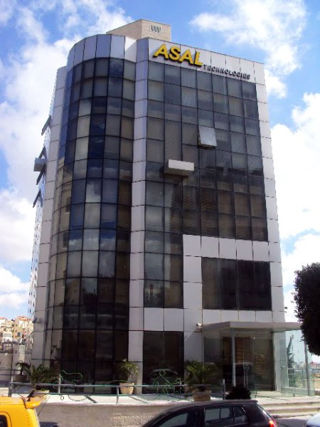 ASAL Technologies building in Ramallah