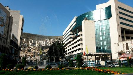 El centro comercial de Nablus