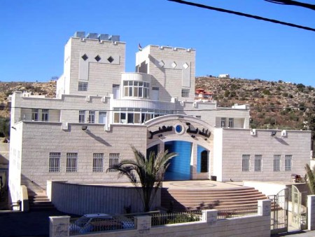 Sa'ir Municipio, al norte de Hebrón