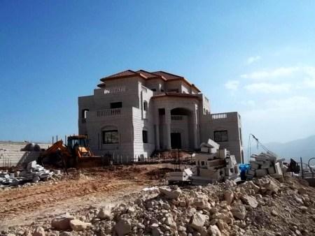 La villa Maslmani en Tubas