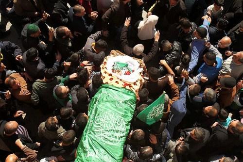 Kilzar Oweiwi's funeral
