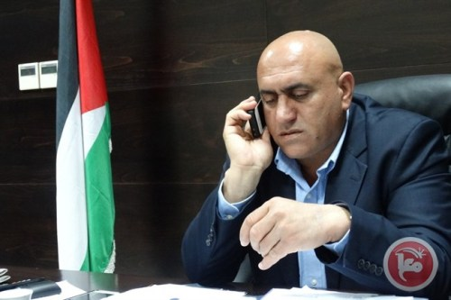 Discharged Nablus governor Akram Rajoub