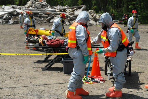 New York National Guard trains for dirty bomb disaster