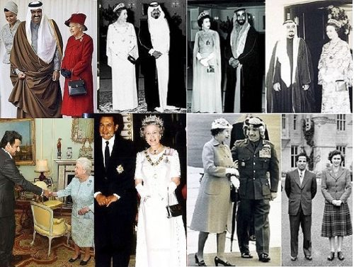 Queen Elizabeth II's meeting with Arab leaders and kings over the years (Algeria World). The Queen has never visited Israel.