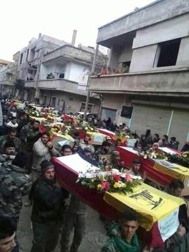 Mass Hizbullah funeral, June 19, 2016