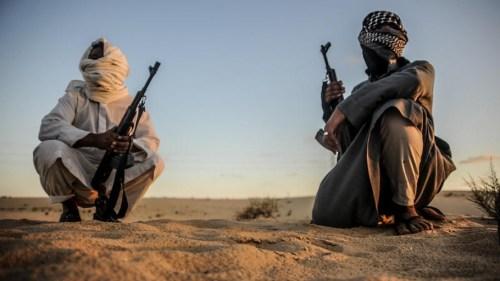 Members of the Tarabin Bedouin Tribe