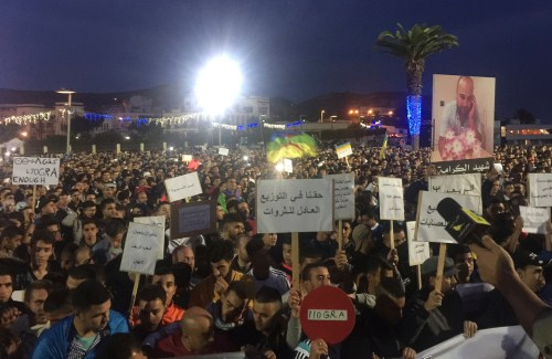 Morocco Protest