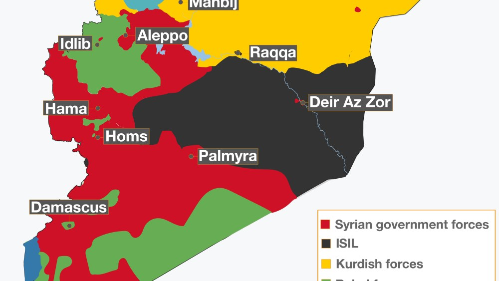 The Future Partition of Syria – An Overview