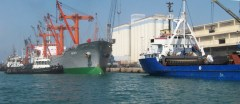 Ships in Tartus Port, Syria