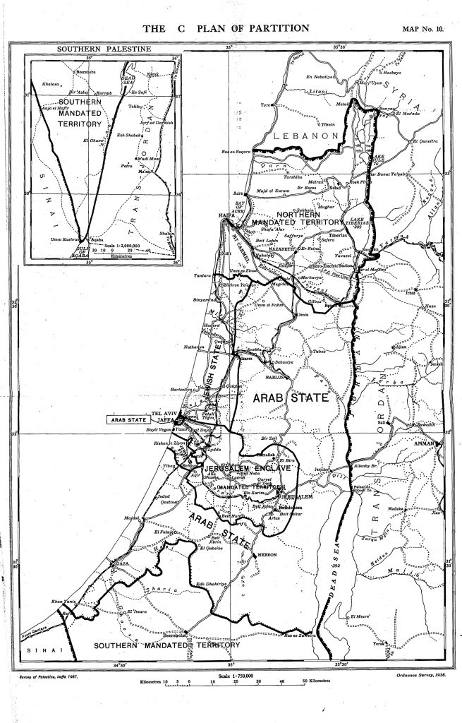 The Peel Commission Report of 1937 and the Origins of the