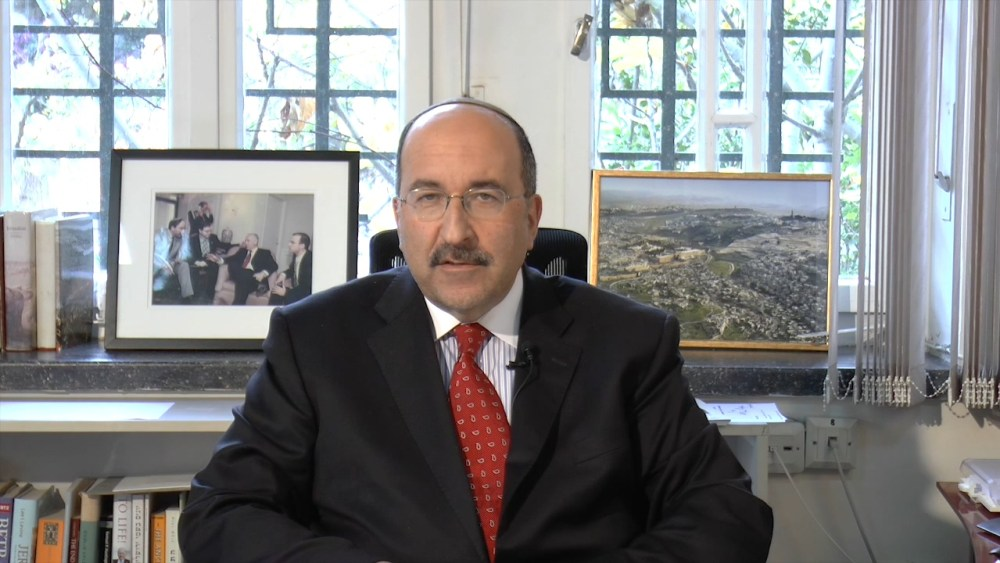 Amb. Dore Gold: Setting the Stage for a Peace Process that Can Work