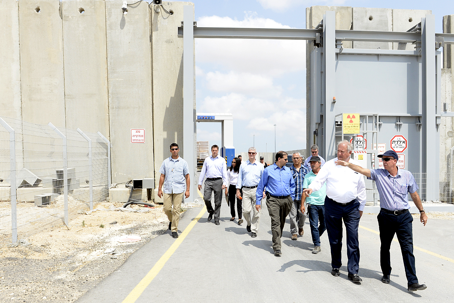 U.S. Undersecretary of State for Political Affairs Thomas Shannon in southern Israel