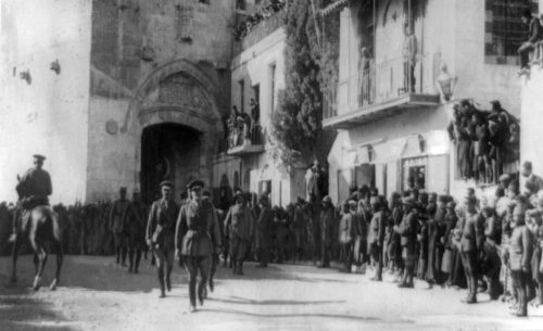 General Edmund Allenby enters Jerusalem