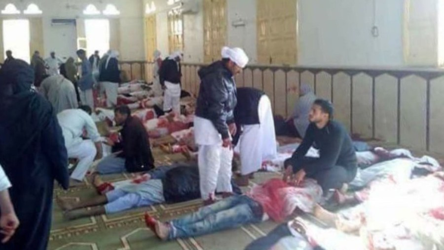 "The ""Black Friday"" Massacre in the Sinai Mosque"