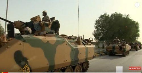 Turkish armored vehicles in Qatar