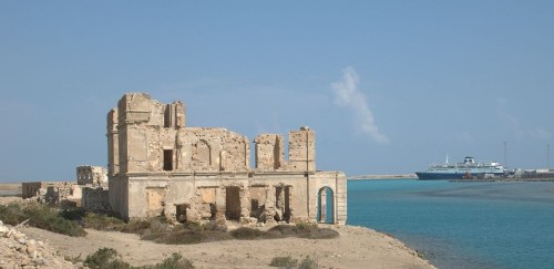 Suakin on the coast of Sudan