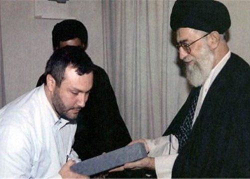Imad Mughniyeh and Ayatollah Ali Khamenei