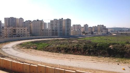 A view of the neighborhood of Semiramis-Kafr Akab