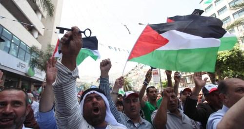 Arab protestors