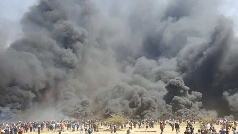 The Events along the Border with Gaza