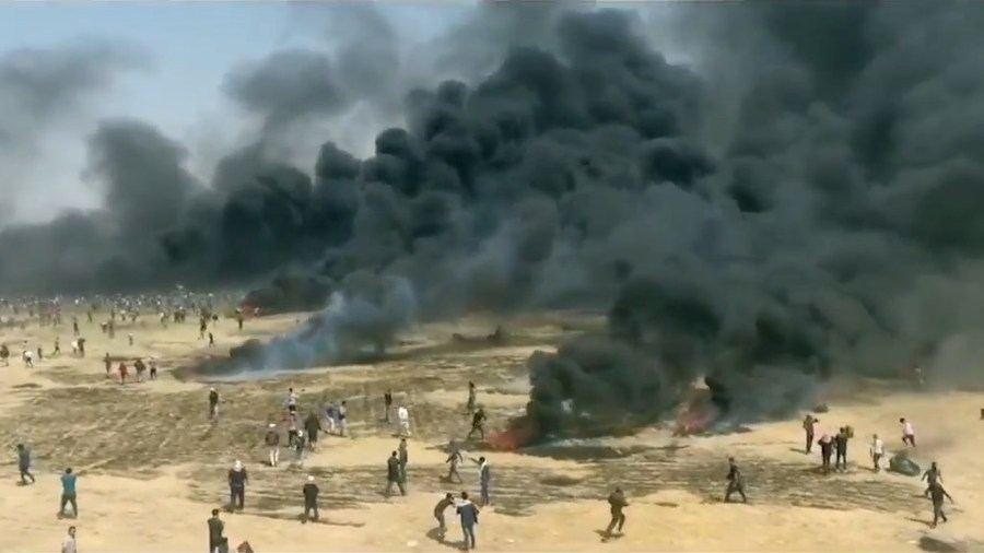 """Did Israel Use """"Disproportionate Force"""" to Protect the Gaza Fence?"""