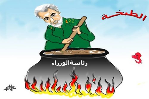 Iranian al-Quds commander Suleimani stirs the pot.